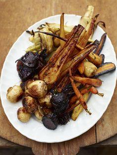 Jamie Oliver's Roast Vegetable Mega Mix