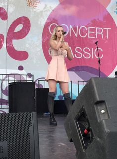 Photos: Dove Cameron Performed At The New Albany Classic September 20, 2015 - Dis411