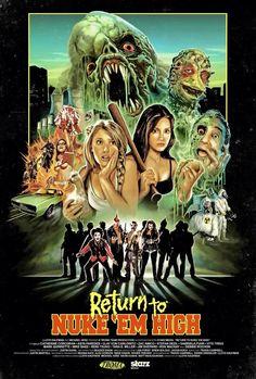 Return to Nukem'high # horror # troma