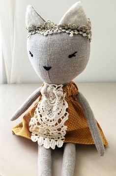 Anastasia Cat Doll by lespetitemainss on Etsy