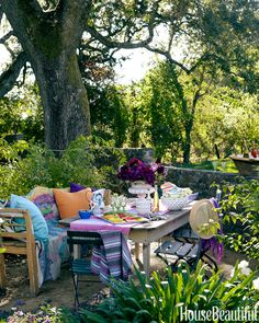 Bring Furniture Outdoors
