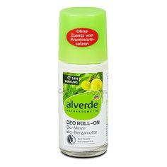 ALVERDE Natural Cosmetics Deodorant Roll-on Mint Bergamot 24 Hour 50 ml | Get Some Beauty