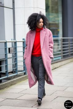 Julia Sarr-Jamois Street Style Street Fashion Streetsnaps by STYLEDUMONDE Street Style Fashion Blog
