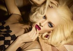 Golden Winter - Dior 2013 Christmas Makeup Collection by LaToya Cole | Lucky Community