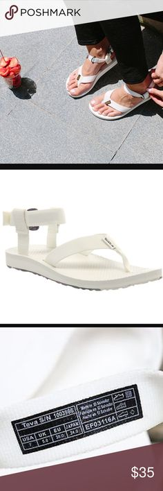 Teva Original Sandal White Universal Sport Sandals New and Authentic! Teva Shoes Sandals