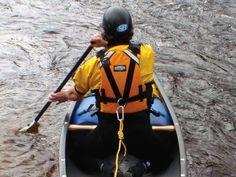 Solo canoe rescue technique