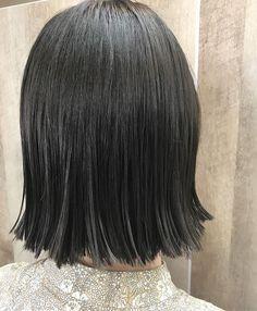 yuya_ap_regist21🙋🏻♂️ストレートラインの切りっぱなしボブ✂️✨グレージュカラー🌈IT'S COOL🕺💋💈 #イルミナ #イルミナカラー #Routea #ルートエー #原宿 #表参道 #hair #color #salonwork