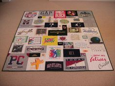 Too Cool T-Shirt Quilt