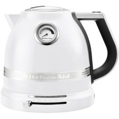 Boil water quickly and quiet with the KitchenAid Electric Kettle. With variable temperature control and smooth, stylish design, the KitchenAid kettle is a great choice for any kitchen.