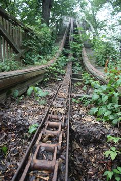 "Abandoned Roller Coaster :: ""Nothing in the world is permanent, and we're…"