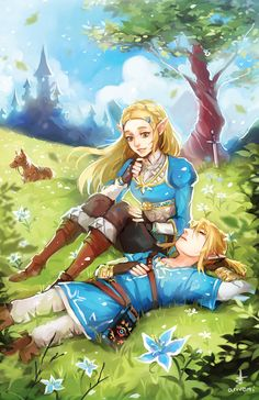LOZ: Breath of the Wild by Ariuemi