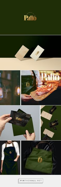 Graphic Design - Patio Restaurant Branding by Joe El Helou Restaurant Identity, Hotel Branding, Branding Agency, Restaurant Design, Business Branding, Logo Branding, Brand Identity Design, Graphic Design Branding, Corporate Design