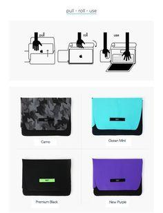 Macbook pro 13'' 130 Sleeve case 3 in 1 wrist / mouse pad Neoprene air chamber #130Sleeve