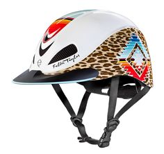 Pear Leopard, Fallon Taylor by Troxel Helmet Collection