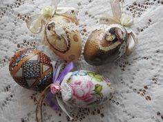 Easter Decor Easter Handmade Eggs Decor Home Decor by JadAngel