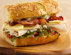 turkey bacon sandwich