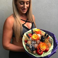 Fresh and delicious bouquet with @proteinballsadl order via link in bio