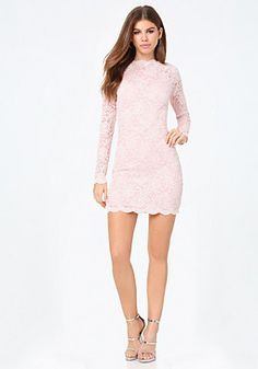 bebe Joyce Lace Dress