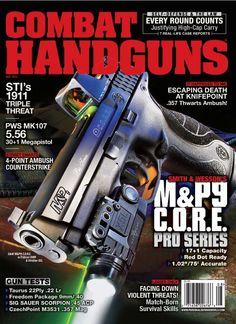 Combat Handguns - Smith & Wesson M & P Core Pro Series Sig Sauer, Orange, Zombie Guns, Smith Wesson, Personal Defense, Battle Rifle, Camping Survival, Magazine, Hunting
