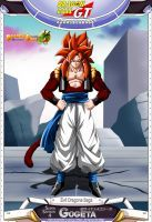 Dragon Ball GT - Gogeta SSJ4 OV by DBCProject