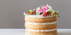 How To Make Your Own Naked Wedding Cake