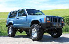 Modificaciones Jeep Xj, Jeep Xj Mods, Jeep Wrangler Tj, Jeep Truck, 1999 Jeep Cherokee, Cherokee Sport, Nissan Trucks, Chevrolet Trucks, Lifted Xj