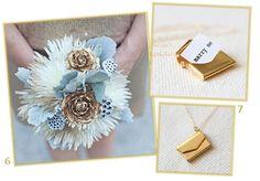 Sweet Violet Bride - http://sweetvioletbride.com/2012/10/gold-wedding-inspiration/