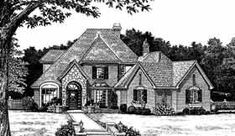 Elevation of European   French Country   Victorian   House Plan 98568