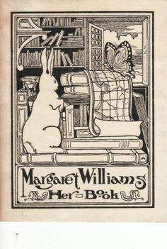 Margaret Williams, Her Book www.facebook.com/magyarexlibris  Hungarian Ex Libris Page. Small graphic, bookplates entries, Magyar Ex libris oldal.