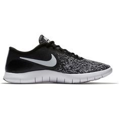 Nike Flex Contact Women's Running Shoes ($75) ❤ liked on Polyvore featuring shoes, athletic shoes, oxford, mesh shoes, oxford shoes, stretchy shoes, laced up shoes and nike shoes