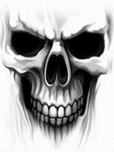 Skull wallpaper by __KoniG__ Skull Tattoo Design, Skull Design, Skull Tattoos, Body Art Tattoos, Tattoo Designs, Tattoo Caveira, Skull Stencil, Frida Art, Sugar Skull Tattoos
