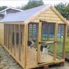 Rescue Dog Pitbulls - - - - A Frame Dog House - Bernese Mountain Dog Costume Dog Kennel Designs, Diy Dog Kennel, Kennel Ideas, Dog Kennels, Build A Dog House, Dog Yard, Dog Pen, Cool Dog Houses, Outdoor Dog