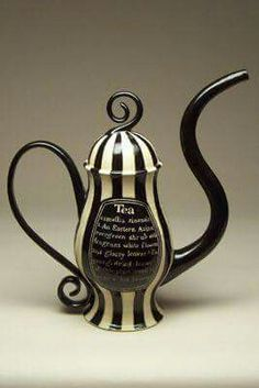 Tim Burton inspired tea pot