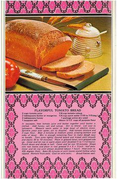 Treasured Honey Recipes Flavorful Tomato Bread