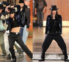 Sofia Boutella, video Hollywood Tonight, by Michael Jackson.