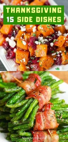 Easy Thanksgiving Side Dishes are the key to a perfect holiday feast that include mashed potatoes, stuffing, veggies, sauces. Best Thanksgiving Side Dishes, Holiday Side Dishes, Side Dishes Easy, Thanksgiving Recipes, Holiday Recipes, Thanksgiving 2020, Paleo Recipes, Healthy Dinner Recipes, Easy Recipes