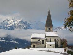 "Uma igreja muito velha (1200) ""Buchbergkirche"" ... Bischofshofen Austria, Mansions, House Styles, Vintage, Home Decor, Photos, Luxury Houses, Vintage Comics, Interior Design"