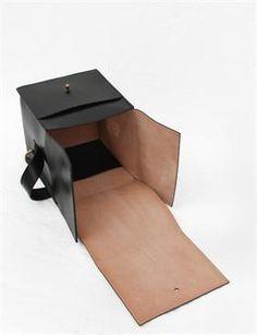 Creatures of Comfort Box Bag Small- Black