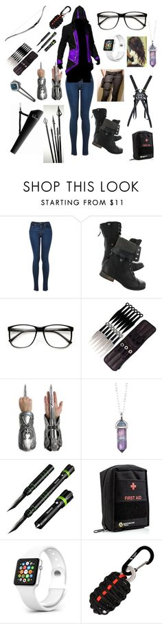 """""""Zombie Apocalypse Survival - My Outfit"""" by mimi-minecrafter ❤ liked on Polyvore featuring Jami, Cree and Plantronics"""