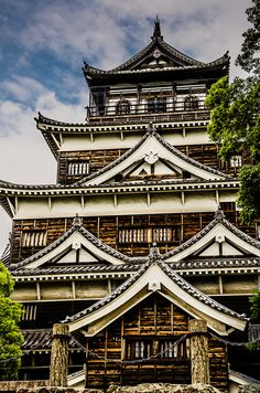 We visited Hiroshima Castle on a cruise excursion in Osaka, Japan | Flickr - Photo Sharing!
