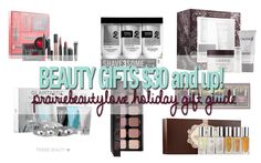 HOLIDAY 2015 Gift Guide: $30 and Up Beauty Gifts