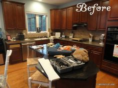 Kitchen Makeover Part 2 by Christy at 11 Magnolia Lane - DIY Show Off