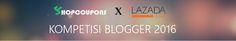Tukang Nguplug: Saya Blogger dan Saya Mau Ini Dari Lazada