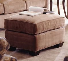 Woodrow Ottoman | Rowe Furniture | Home Gallery Stores