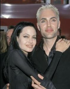 Angelina & her brother James Haven