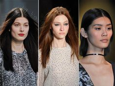 Fall/ Winter 2014-2015 Hairstyle Trends: Straight Hair  #hairstyles #hairtrends