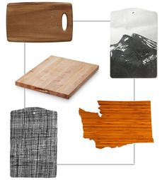 cutting boards on kinfolk