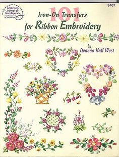 ribbon embroidery   Ribbon Embroidery by Deanna Hall West - Blog di iltelaiopovolaro.over ...