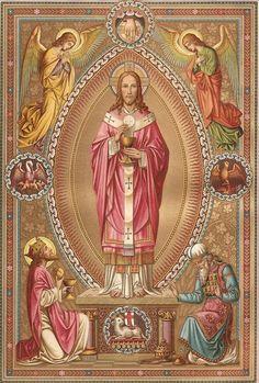 Cristo Sumo y Eterno Sacerdote.