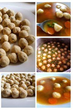 Egyszerű, finom, könnyen elkészíthető krumpligombóc/ burgonyagombóc friss krumpliból vagy maradék krumplipüréből. Bármilyen leveshez én most borsóleveshez készítettem. Black Eyed Peas, Beans, Vegetables, Food, Meal, Beans Recipes, Eten, Vegetable Recipes, Meals